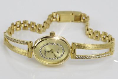 Russian rose Soviet gold pendant vpns083