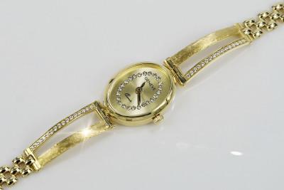 Russian rose Soviet gold pendant vpns084