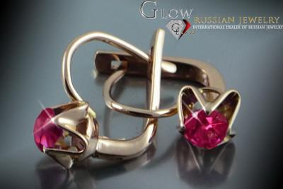 vrpr004 Russian rose Soviet gold pearl ring