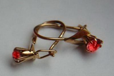 Russian rose Soviet gold Dragonfly enamel pendant vpns011