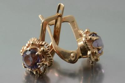 Russian rose Soviet gold bracelet cb009