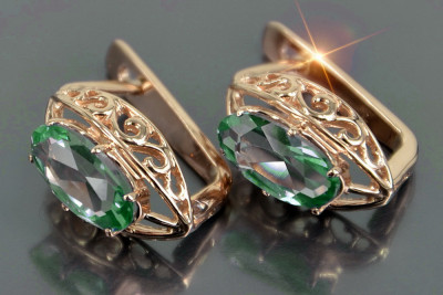 Russian rose Soviet gold ring crax004