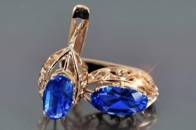 Russian rose gold ring crax009