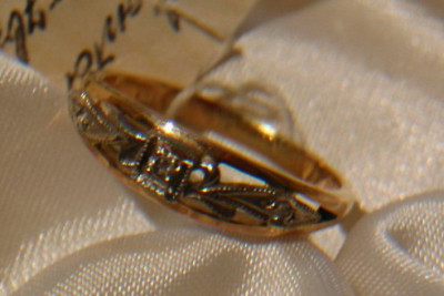 Russian rose gold pendant cpws001
