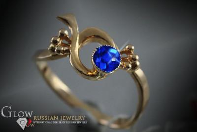vb004 Russian rose Soviet vintage gold USSR bracelet