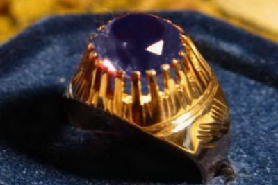 Russian rose Soviet gold pendant vpax016
