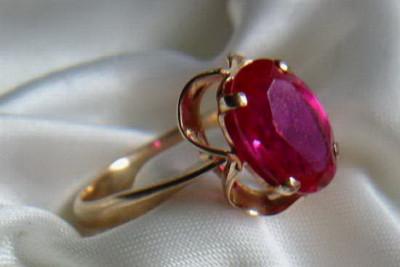 Russian rose gold Diamond earrings veax197