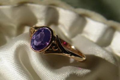 Russian rose gold earrings cez033