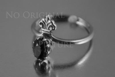 Russian rose gold alexandrite ring vrax079