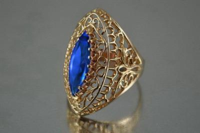Russian rose gold little alexandrite earrings veax069