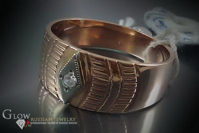 Russian rose gold bracelet cb047