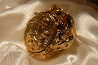 Russian rose gold icon cpi030